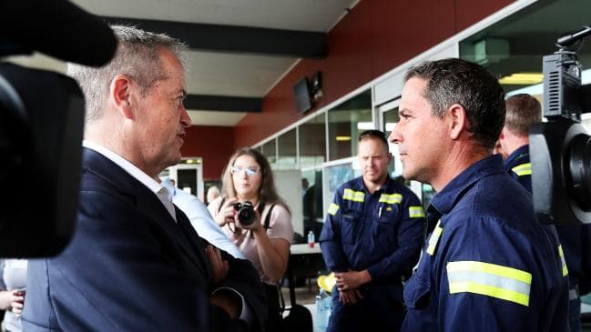 Gladstone worker suspended for speaking with Bill Shorten